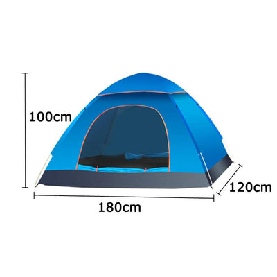 Outdoor Foldable Pop Up Open Tent - Blue