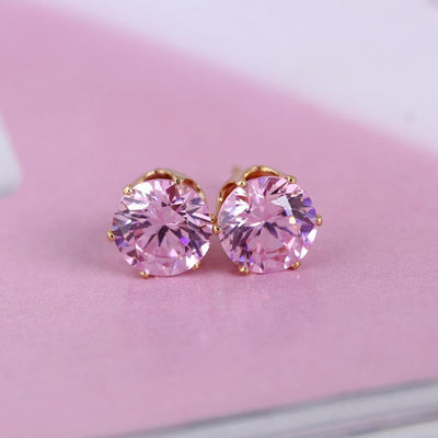 Crystal Dainty Stud Earrings -