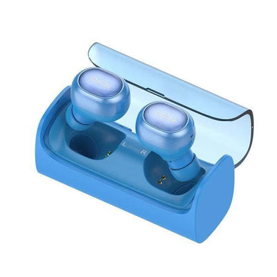 Wireless Bluetooth Earbuds - Blue