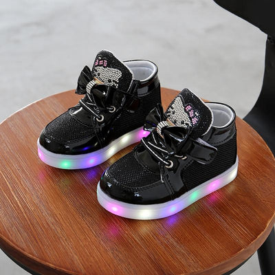 Children's Fashionable Luminous Sneakers -