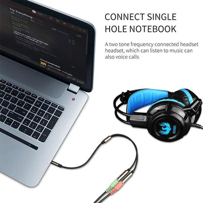 3.5mm Jack Audio Earphone Splitter -