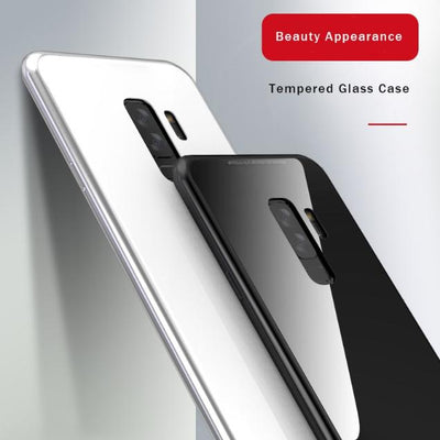Magnetic Tempered Glass Case -