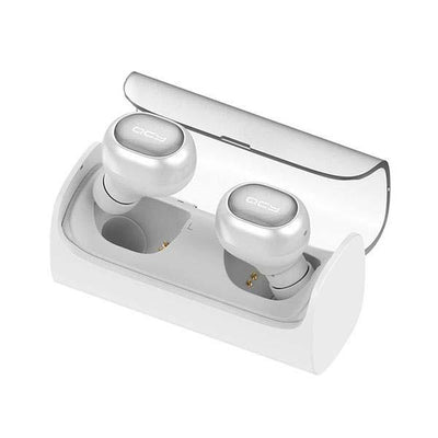 Wireless Bluetooth Earbuds - White