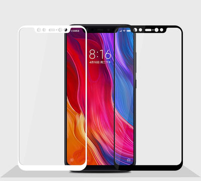 Xiaomi Screen Protector - White Glass / for xiaomi mi8