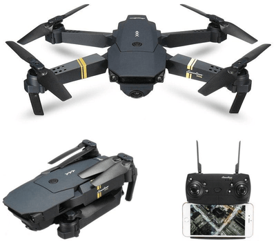 Foldable Camera Quadcopter