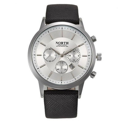 Sports Quartz Wristwatch - Silver