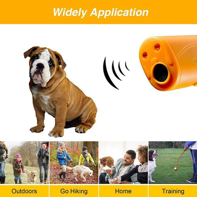 Ultrasonic Pet Dog Repeller Trainer -