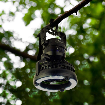 2 in 1 Camping Lighten Fan -