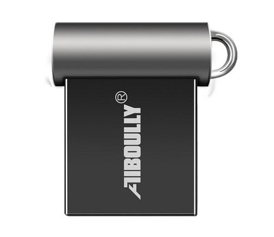 Mini USB Flash Drive - 4GB / Dark Gray