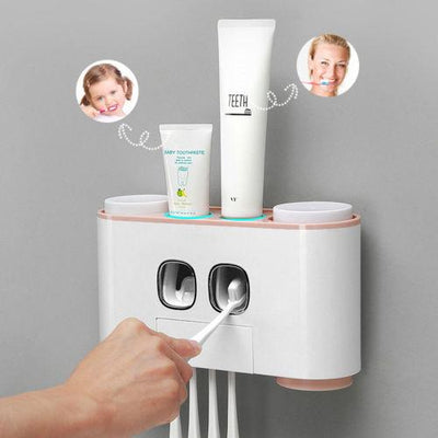 Auto Squeezing Toothpaste Dispenser -