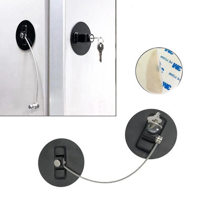 Refrigerator Lock For Kids -