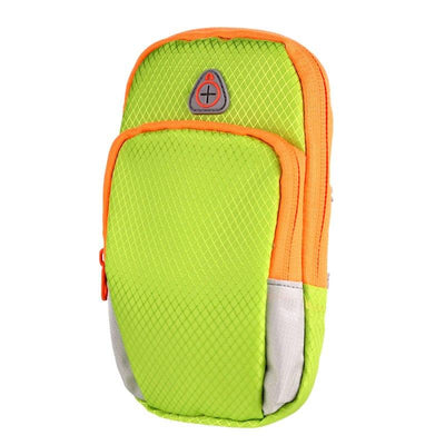 Convenient Sports Storage Armband - Light Green