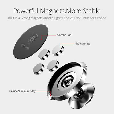 Magnetic Car Mount Phone Holder -