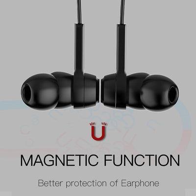 Magnetic Bluetooth Earphones -