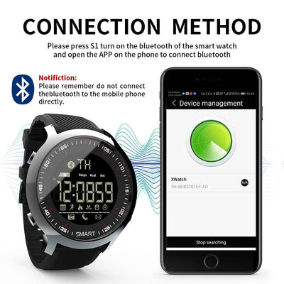 Sports Bluetooth Digital Watch -