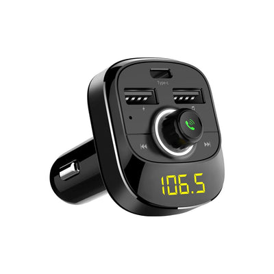 Bluetooth FM Transmitter - Black