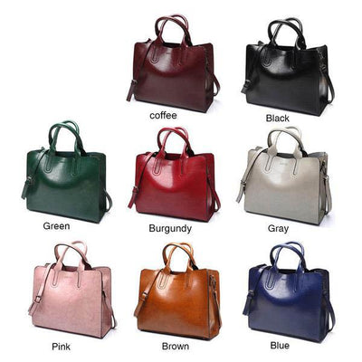 Large Leather Bag -