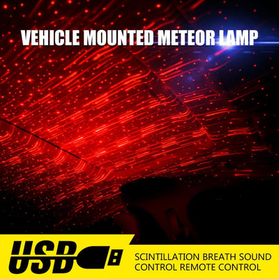 Car Atmosphere Lamp Interior Ambient Star Light -