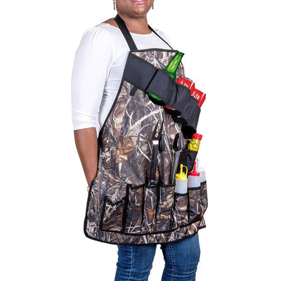 BBQ Grill Apron With Tool Pockets -