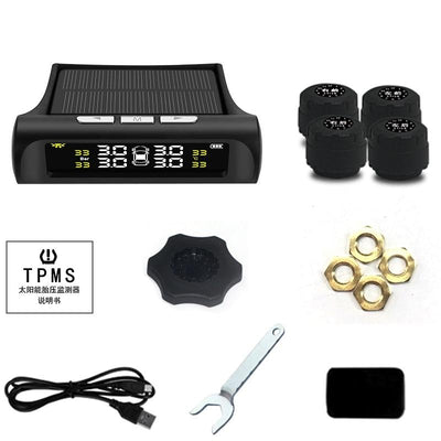 Tire Pressure Monitor System-Solar Powered -