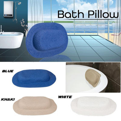 Bath Pillow Headrest -