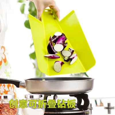 Foldable Fruit Vegetable Cutting Board -