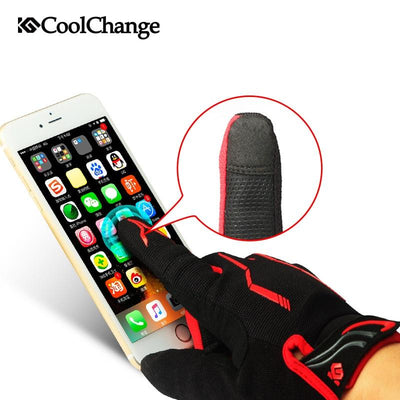 Shockproof Touch Screen Cycling Gloves -