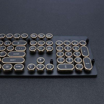 Steam Punk Typewriter Keyboard Caps -