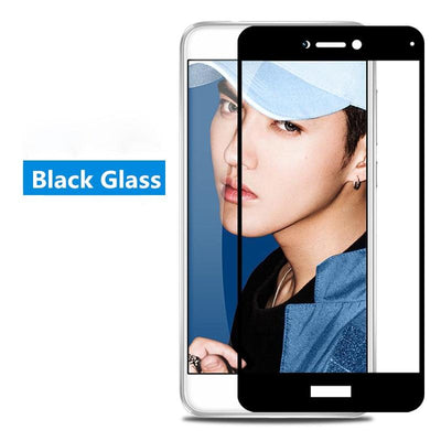 Screen Protector for Huawei - For P8 Lite 2017 / Black