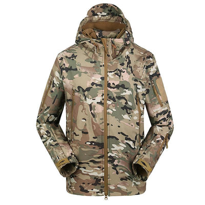 Softshell Tactical Hooded Jacket -