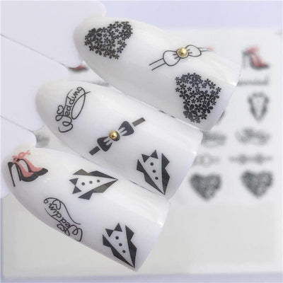 Water Transfer Decals Nail Art Sticker -