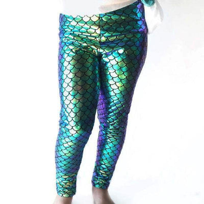 Little Mermaid Leggings -