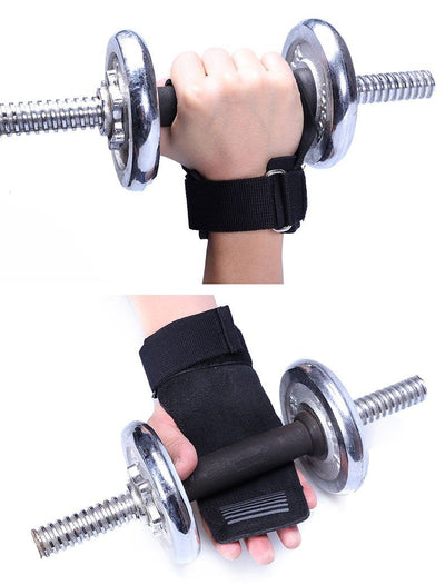 Weight Lifting Gloves Grip Straps -