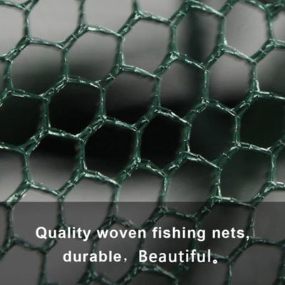 Folded Hexagon 6 Hole Automatic Fishing Trap