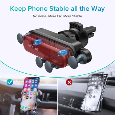 2019 New One Universal Car Phone Holder GPS Stand Gravity -