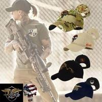 Military Snap-back Baseball Caps -
