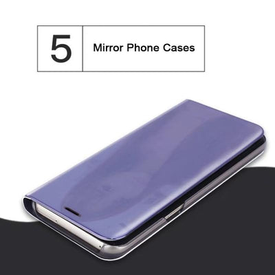 Mirror Leather Case -