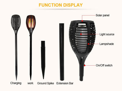 Solar Flame Light -