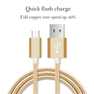 Fast Charging Micro-USB Cable -