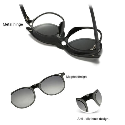 Clip Magnetic Sunglass Set -