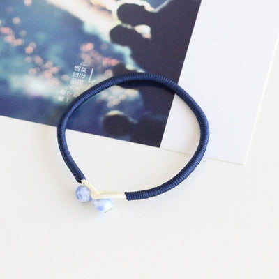 Handmade Lucky String Bracelet - Deep Blue / about 18 cm18cm