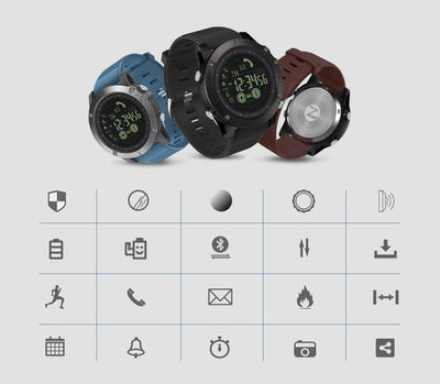 VIBE-3 Flagship Tracker Smartwatch -