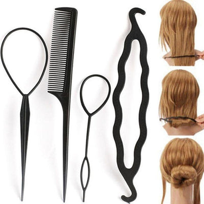 Hair Styling Accessories (4PCS) -