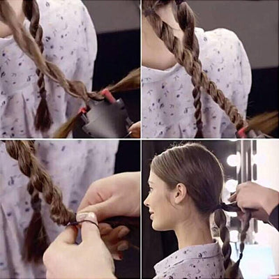 DIY Automatic Hair Braiding Tool -