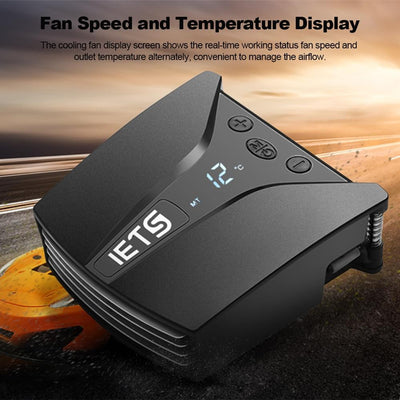 Digital Display Laptop Cooler Fan -