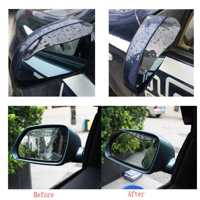 Rain Shield Side View Mirrors -
