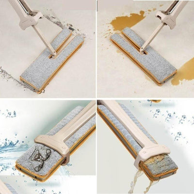 Floor Cleaning Mop + Cloth Set