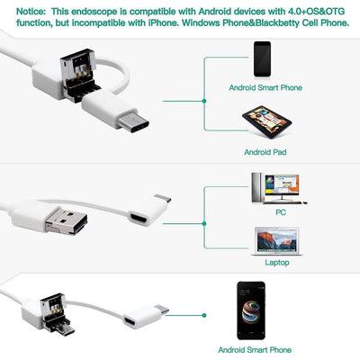 In-ear Cleaning Endoscope - Pc And Android Devices -