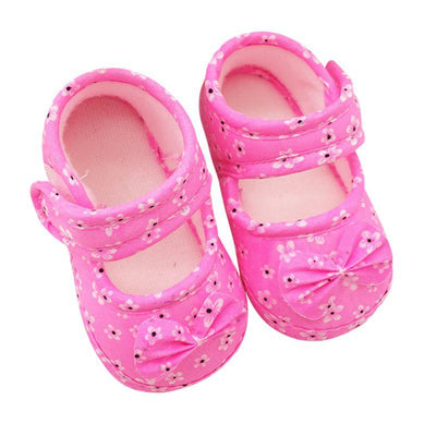 Cute Soft Anti-Skid Infant Shoes - Red / 0-6 months