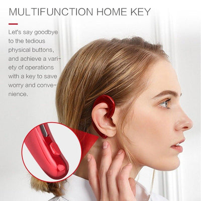 Bone-Conduction Earphones -